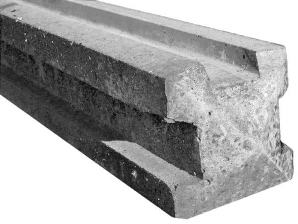 Concrete Post 3 Way Corner