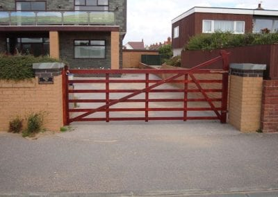 Open-Driveway-Gate