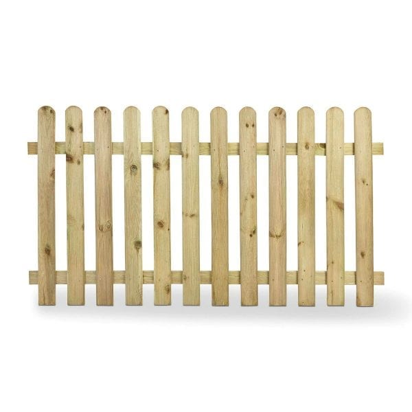 Arched Top Picket Fencing