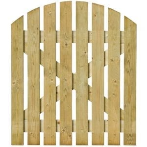 Domed Top Picket Fencing