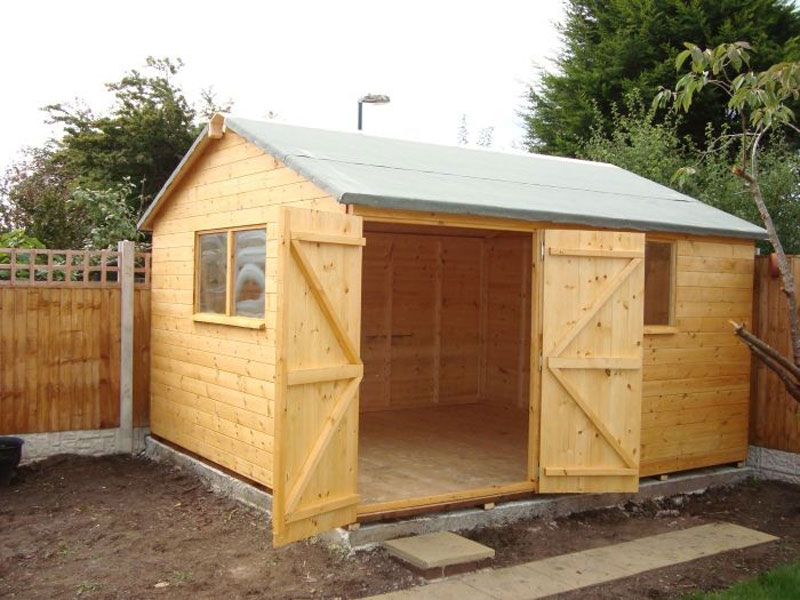 Brompton Joinery Garden Storage Shed